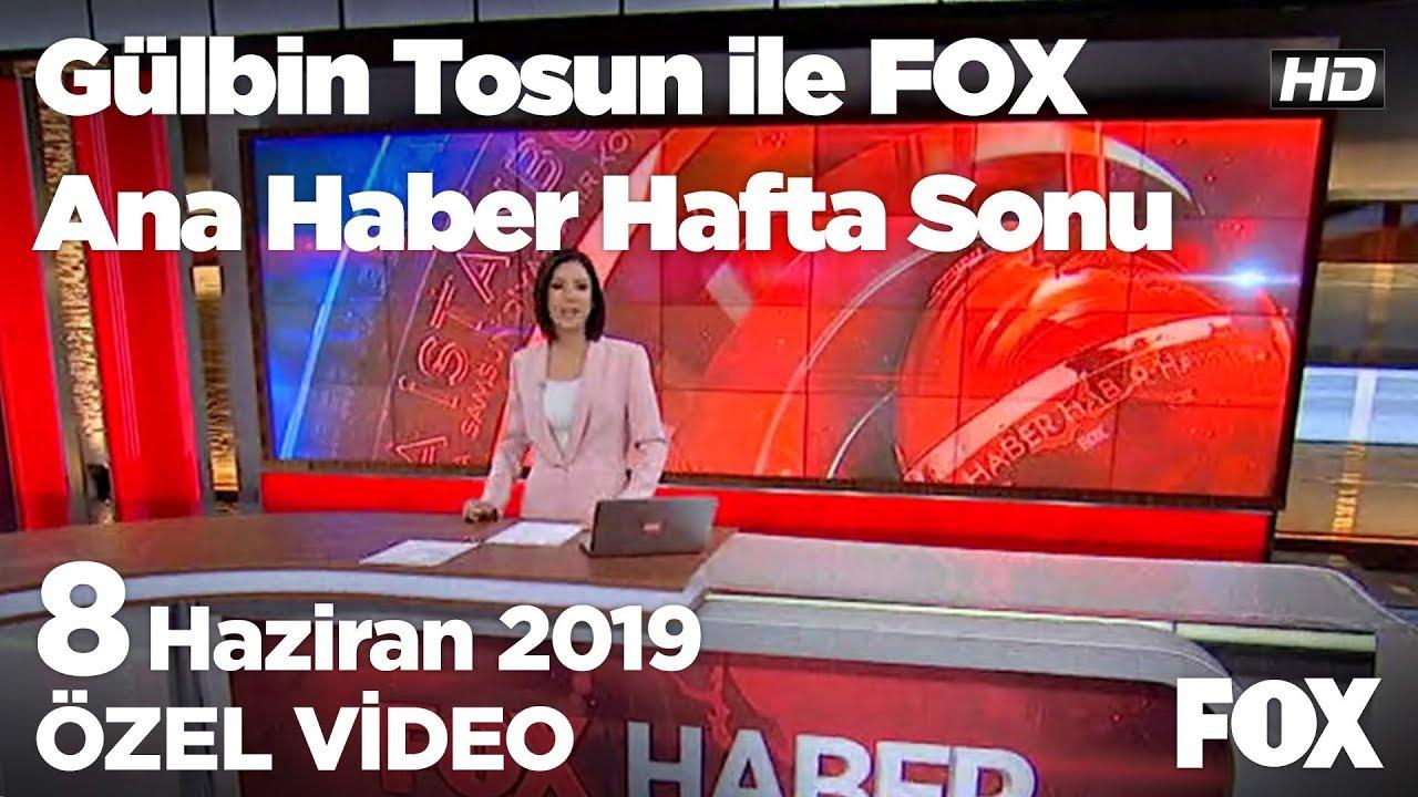 Siyasette kürdistan ifadesi tartışması... 8 Haziran 2019 Gülbin Tosun ile FOX Ana Haber Hafta Sonu