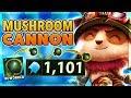 *MUSHROOM REWORK* INFINITE SHROOM BOUNCES (FROM BASE TO BARON) - BunnyFuFuu