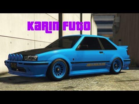 Customization Guide - Karin Futo! (GTA 5) - YouTube
