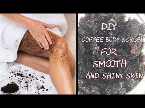 DIY Coffee Scrub || Get Rid Of Body Acne And Cellulite || Instant Glowy Skin ||Body Care Routine