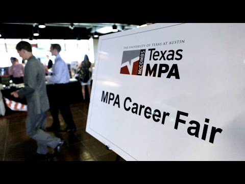 McCombs School of Business MPA Career Opportunities