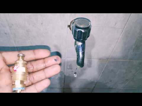 How to Replace A Tap Washer || Tamil