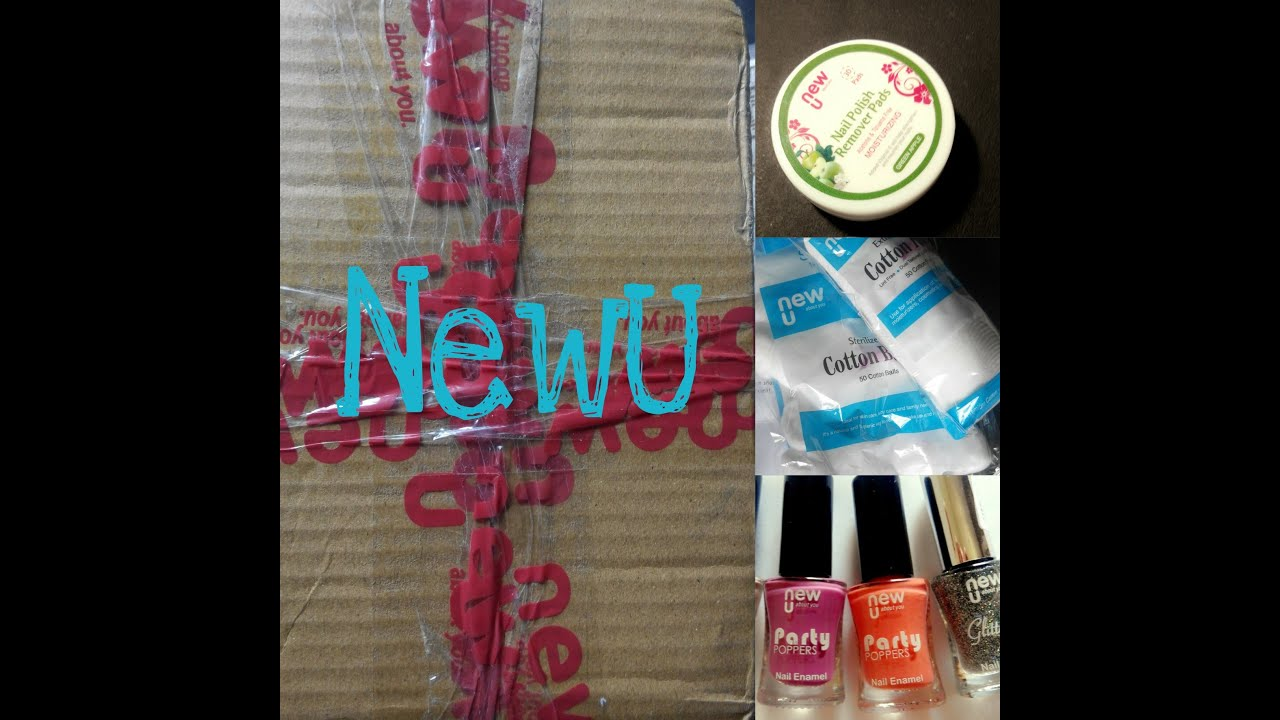 Newu Product Review Online Shopping Nail Polish Haul Youtube