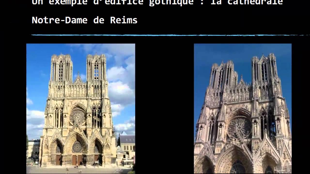 Vid o 5 me histoire art roman et art gothique youtube for Architecture gothique definition