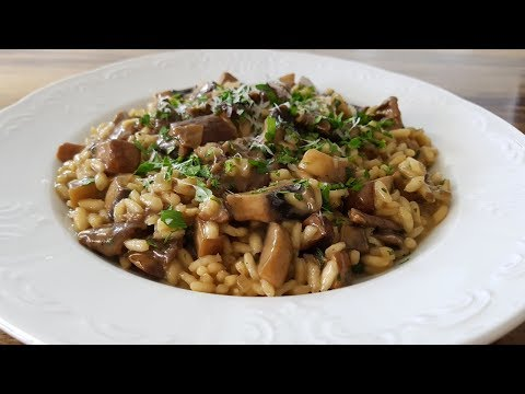 How To Make Mushroom Risotto | Best Mushroom Risotto Recipe