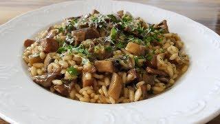 How to Make Mushroom Risotto  Best Mushroom Risotto Recipe
