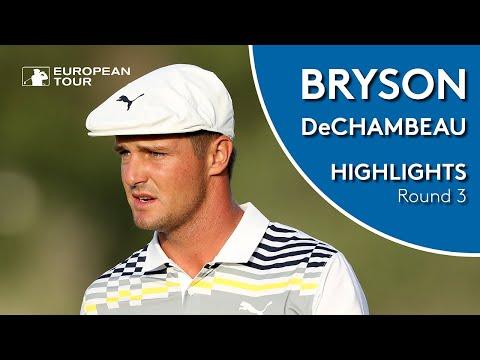 Bryson DeChambeau Highlights | Round 3 | 2019 Omega Dubai Desert Classic