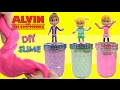 DIY ALVIN and the Chipmunks! Chipettes Slime Kids Craft