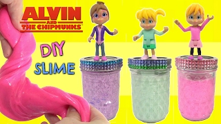 D.I.Y ALVINNN!!! and the Chipmunks, Chipettes, Easy Do It Yourself Slime Recipe Part 2