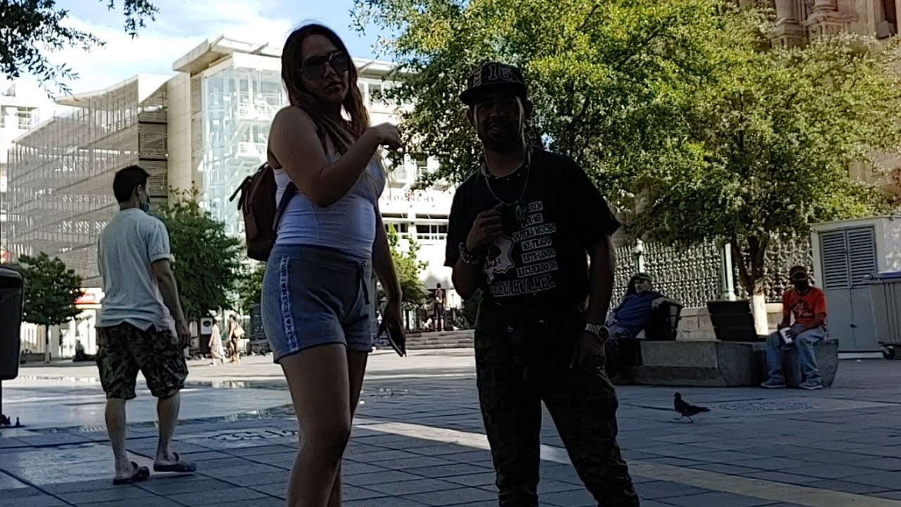 En La Plaza Fresquiando