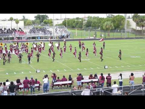 Palm Beach Lakes High School Marching Band (BOTB) 2018 @ Palm Beach Lakes High
