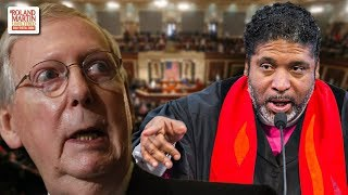 Rev. Barber: McConnell Is 'A Modern Day George Wallace, Standing Between Voting Rights & The People'