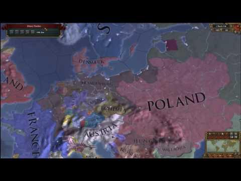 Europa Universalis 4 Timelapse Forming Germany