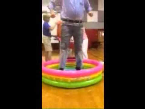 Haughton Middle School ALS ice bucket challenge