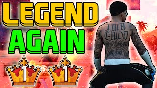 I HIT LEGEND AGAIN | 2 TIME LEGEND 1 | PLAYING vs L4 LDOTBENNY
