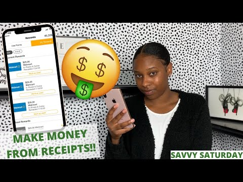5 APPS That PAY YOU To Scan Receipts | Earn Points INSTANTLY In 2020 #savvysaturdays