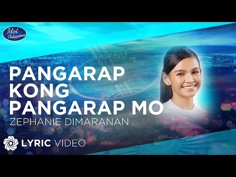 Zephanie Dimaranan - Pangarap Kong Pangarap Mo  Idol Philippines