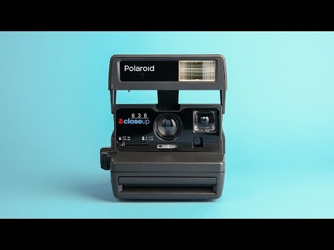 The Polaroid® 600 camera
