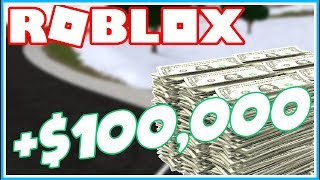 ROBLOX VEHICLE SIMULATOR HOW TO GET 100K MONEY! (CODE!)