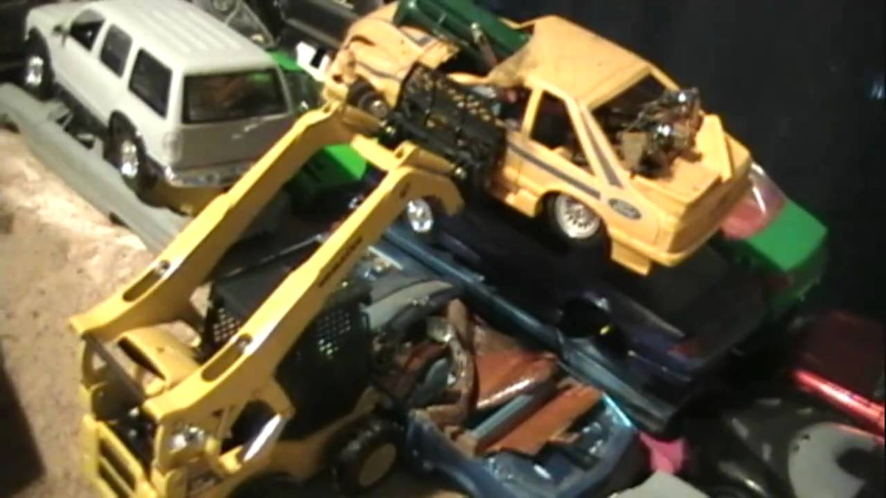 STONEYS MODEL CAR JUNKYARD KIT UPDATE - YouTube