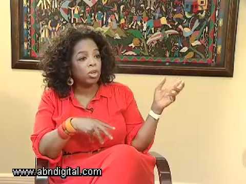 Oprah Winfrey - Exclusive Interview - Part 1