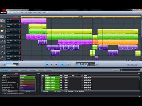 Magix music maker 2013 Rock music Full HD 5.1 Audio