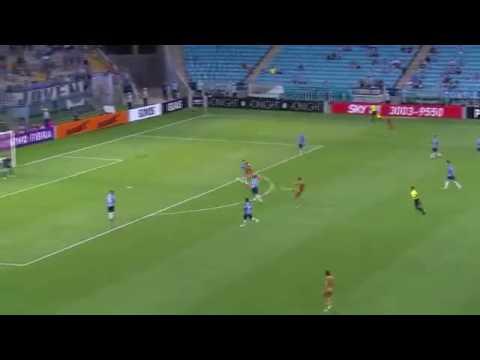 Gols Grêmio 0 X 3 Sport Brasileirão 2016