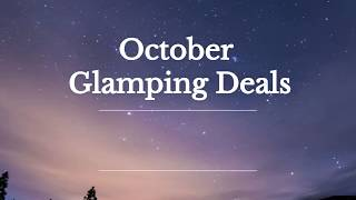 Old Oaks Touring Park October 2019  Glamping Discounts