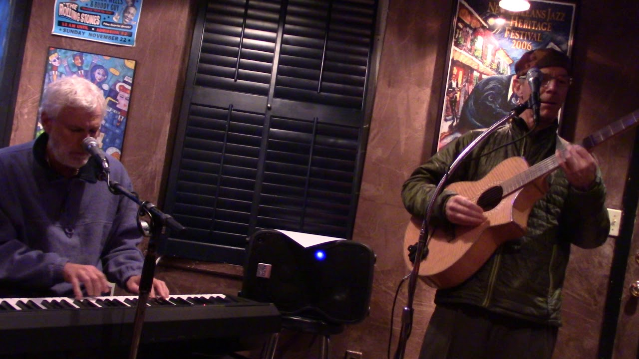 """Pete Queal and Curt Landes perform """"The City""""."""