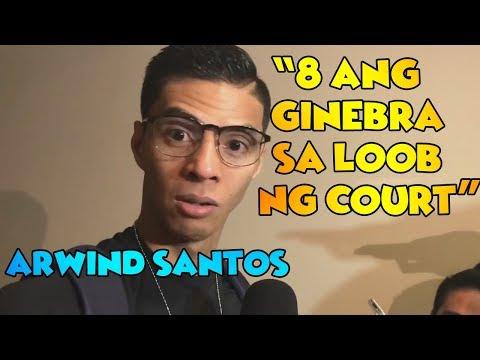 "CONTROVERSIAL Arwind Santos ""NEVER AKO NAPIKON SA GINEBRA FANS"" | Game 3 interview vs Ginebra"