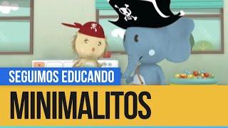 Minimalitos: Los piratas - Seguimos Educando