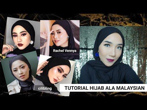 TUTORIAL HIJAB A LA MALAYSIAN / RACHELVENNYA