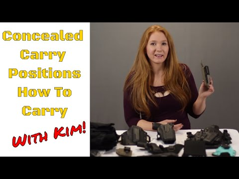Kim Explains Concealed Carry Positions: How To Carry And Why
