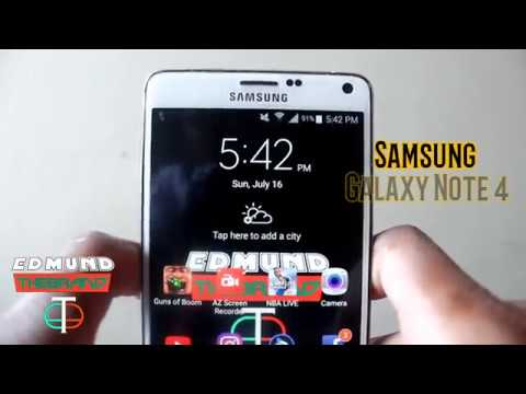 Samsung Galaxy Note 4 | APN Settings For WIND Mobile / Freedom Mobile