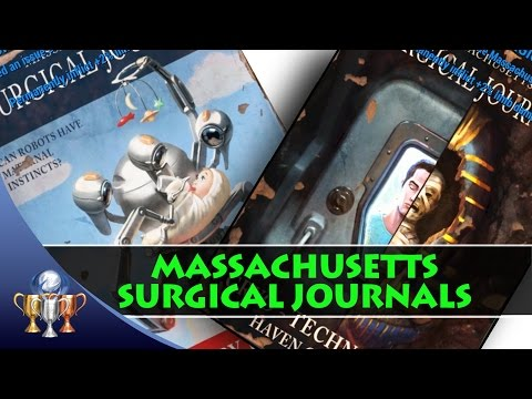 Fallout 4 Massachusetts Surgical Journals Comic Book Magazine Locations (9 Issues)