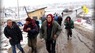 Standing Rock protesters leave camp