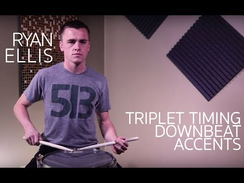 Triplet Timing  Downbeat Accent
