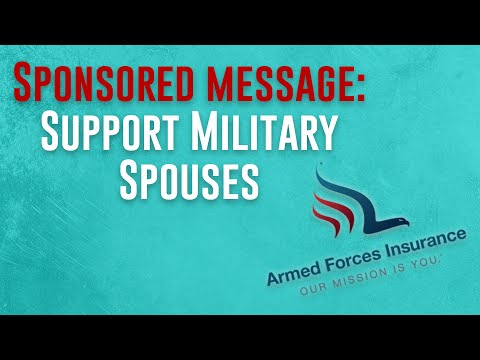 Armed Forces Insurance Partnered Campaign - #OurMissionIsYou.