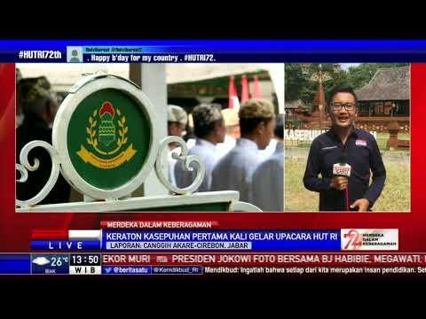 Keraton Kasepuhan Cirebon Kali Pertama Gelar Upacara HUT RI