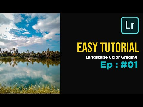 Easy Tutorial: Landscape Color grading (Adobe Lightroom Mobile) thumbnail