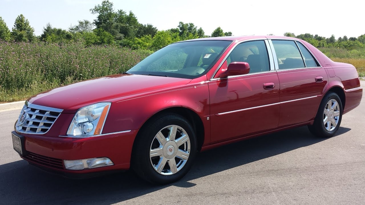 luxury miles low sale cadillac at dts used sedan detail for