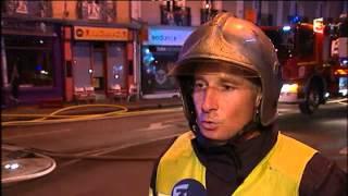 Incendie de Rennes : L'interview du pompier
