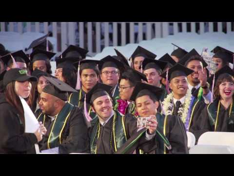 College of Environmental Design Commencement 2017