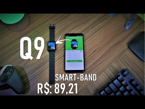 Q9 SMART-BAND CUSTO BENEFÍCIO TOP POR R$: 89,20 REVIEW / ANÁLISE