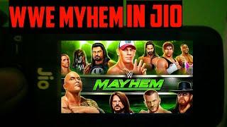 How to play WWE Myhem in jio phone