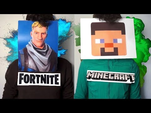 If Fortnite And Minecraft Had A Rap Battle..
