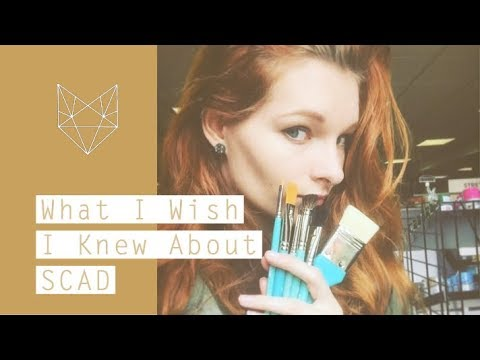 What I Wish I Knew About SCAD
