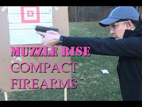 How To See Muzzle Rise on Compact Firearms