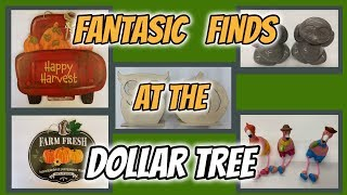 FANTASTIC NEW FINDS at the DOLLAR TREE for upcoming DIY's