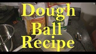 Carp Fishing Dough Ball Bait Recipe How To Tutorial Guide